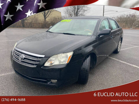 2006 Toyota Avalon for sale at 6 Euclid Auto LLC in Bristol VA