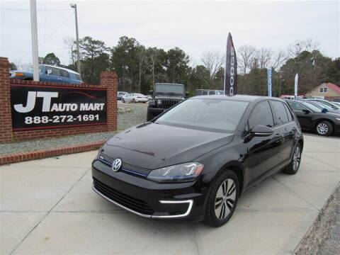 2015 Volkswagen e-Golf for sale at J T Auto Group in Sanford NC