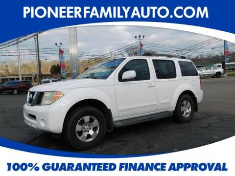 2007 Nissan Pathfinder for sale at Pioneer Family auto in Marietta OH