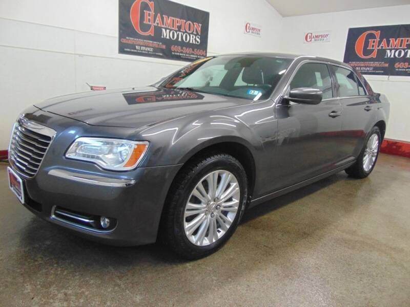 2014 Chrysler 300 for sale at Champion Motors in Amherst NH