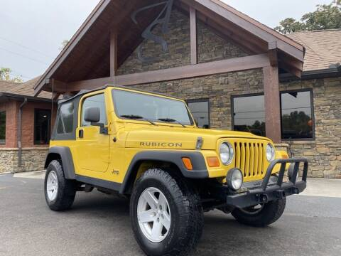2006 Jeep Wrangler for sale at Auto Solutions in Maryville TN