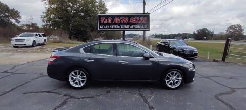 2011 Nissan Maxima for sale at T & G Auto Sales in Florence AL