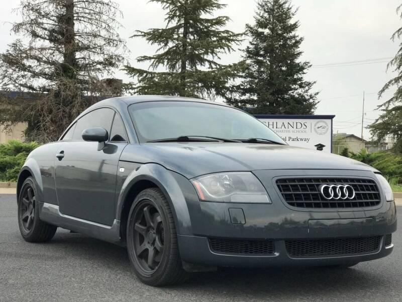 2003 Audi TT for sale at AutoAffari LLC in Sacramento CA