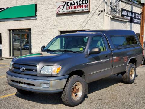 2005 Toyota Tundra for sale at Advanced Auto Sales in Tewksbury MA