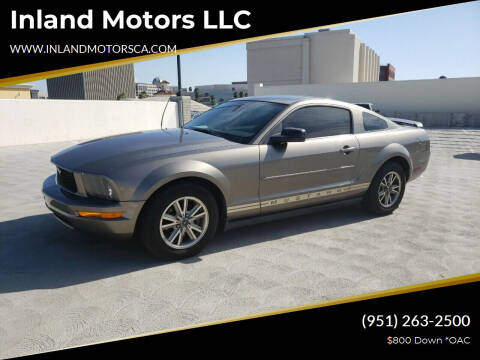 2005 Ford Mustang for sale at Inland Motors LLC in Riverside CA