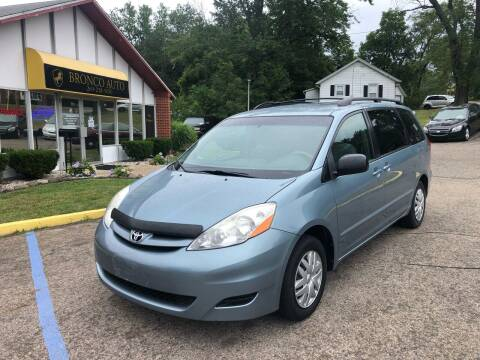 2007 Toyota Sienna for sale at Bronco Auto in Kalamazoo MI