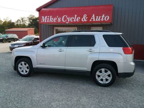 2015 GMC Terrain for sale at MIKE'S CYCLE & AUTO in Connersville IN