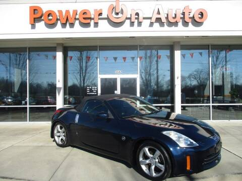 2008 Nissan 350Z for sale at Power On Auto LLC in Monroe NC