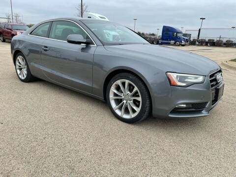2014 Audi A5 for sale at ANYTHING IN MOTION INC in Bolingbrook IL