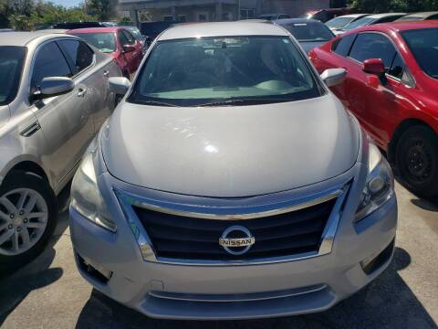 2015 Nissan Altima for sale at Track One Auto Sales in Orlando FL