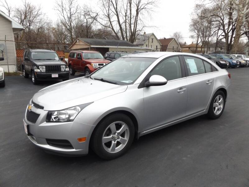 2014 Chevrolet Cruze for sale at Goodman Auto Sales in Lima OH