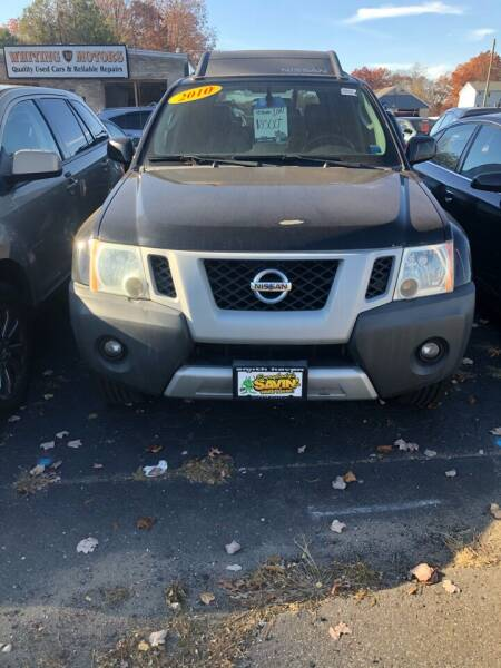 2010 Nissan Xterra for sale at Whiting Motors in Plainville CT