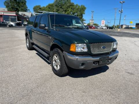 2002 Ford Ranger for sale at CHAD AUTO SALES in Bridgeton MO