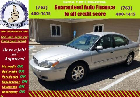 2007 Ford Taurus for sale at Capital Fleet  & Remarketing  Auto Finance in Columbia Heights MN