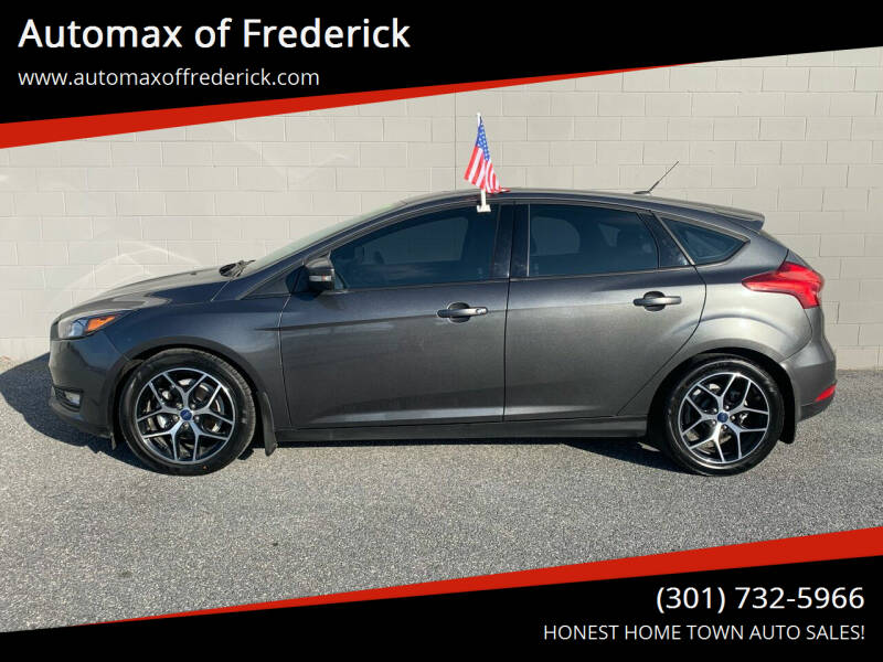 2017 Ford Focus for sale at Automax of Frederick in Frederick MD