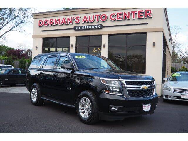 2015 Chevrolet Tahoe for sale at DORMANS AUTO CENTER OF SEEKONK in Seekonk MA