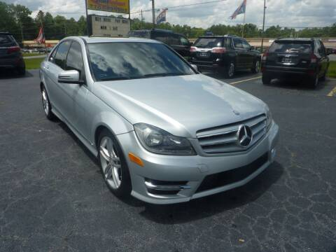 2012 Mercedes-Benz C-Class for sale at Roswell Auto Imports in Austell GA