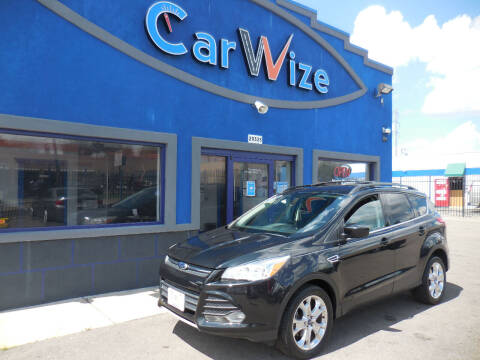 2013 Ford Escape for sale at Carwize in Detroit MI