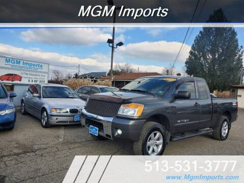 2010 Nissan Titan for sale at MGM Imports in Cincannati OH