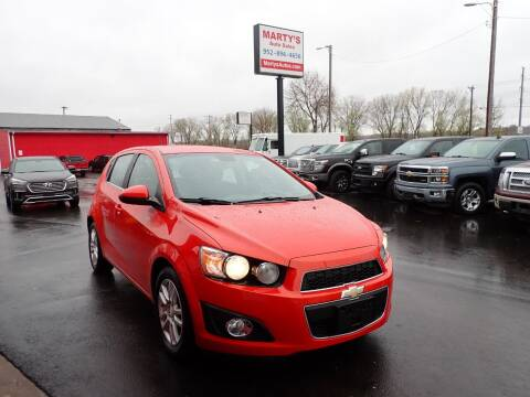2013 Chevrolet Sonic for sale at Marty's Auto Sales in Savage MN
