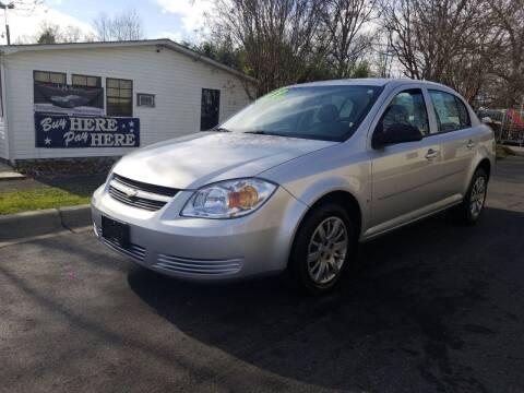 2009 Chevrolet Cobalt for sale at TR MOTORS in Gastonia NC
