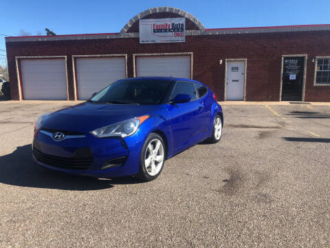 2012 Hyundai Veloster for sale at Family Auto Finance OKC LLC in Oklahoma City OK