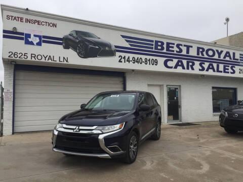 2017 Mitsubishi Outlander for sale at Best Royal Car Sales in Dallas TX
