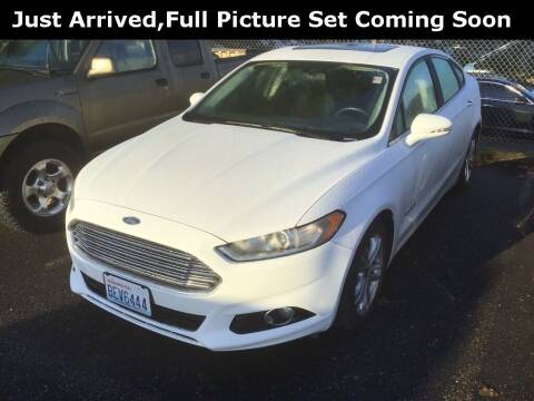 2016 Ford Fusion Hybrid for sale at Royal Moore Custom Finance in Hillsboro OR
