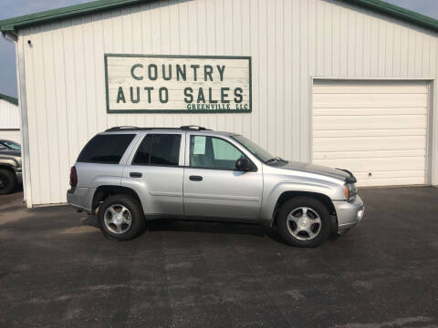 2008 Chevrolet TrailBlazer for sale at COUNTRY AUTO SALES LLC in Greenville OH