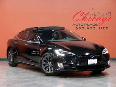 2017 Tesla Model S for sale at Chicago Auto Place in Bensenville IL