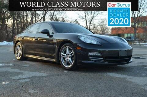 2011 Porsche Panamera for sale at World Class Motors LLC in Noblesville IN