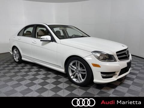 2014 Mercedes-Benz C-Class for sale at CU Carfinders in Norcross GA