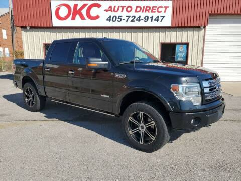 2013 Ford F-150 for sale at OKC Auto Direct, LLC in Oklahoma City OK