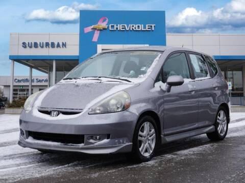 2008 Honda Fit for sale at Suburban Chevrolet of Ann Arbor in Ann Arbor MI