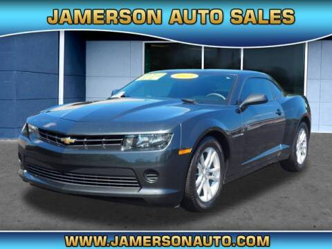 2015 Chevrolet Camaro for sale at Jamerson Auto Sales in Anderson IN