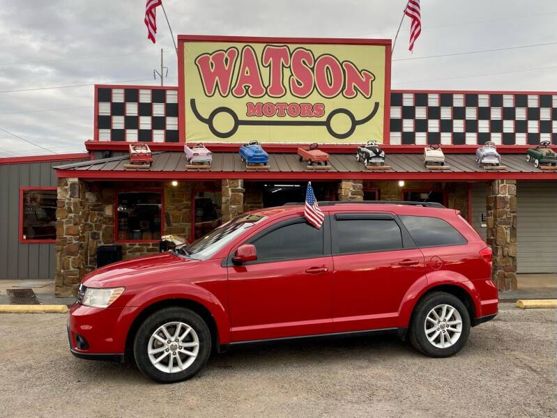 2015 Dodge Journey for sale at Watson Motors in Poteau OK