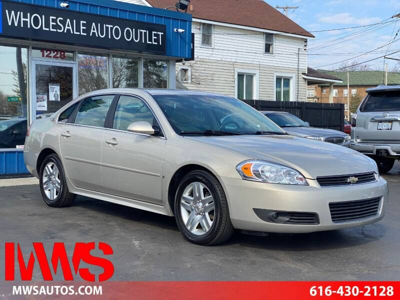 2009 Chevrolet Impala for sale at MWS Wholesale  Auto Outlet in Grand Rapids MI