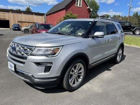 2018 Ford Explorer for sale at SCHURMAN MOTOR COMPANY in Lancaster NH