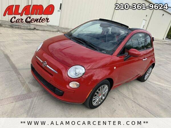 2015 FIAT 500c for sale at Alamo Car Center in San Antonio TX