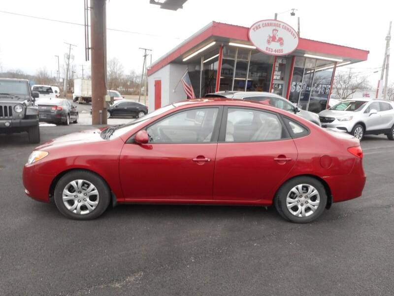 2009 Hyundai Elantra for sale at The Carriage Company in Lancaster OH
