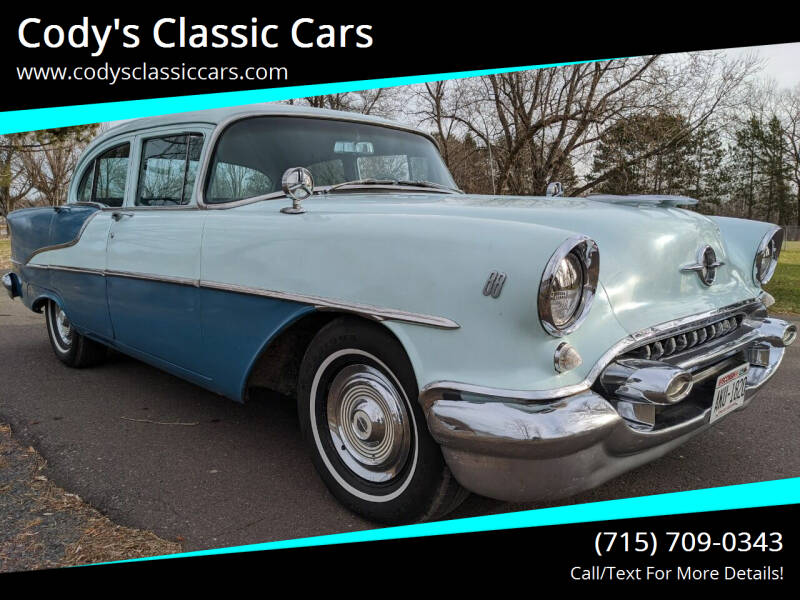 1955 Oldsmobile Eighty-Eight for sale at Cody's Classic Cars in Stanley WI