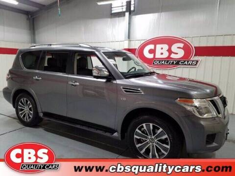2019 Nissan Armada for sale at CBS Quality Cars in Durham NC