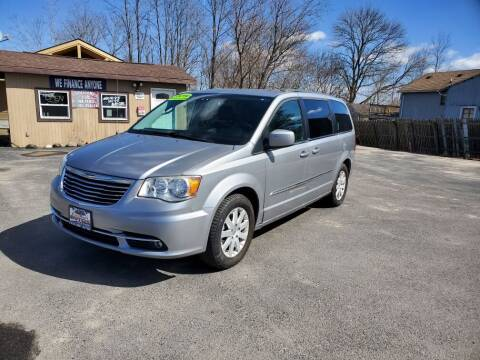 2014 Chrysler Town and Country for sale at Excellent Autos in Amsterdam NY
