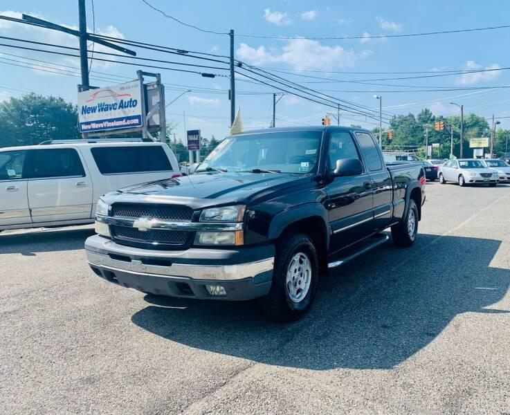 2004 Chevrolet Silverado 1500 for sale at New Wave Auto of Vineland in Vineland NJ