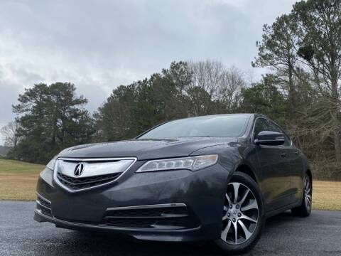 2015 Acura TLX for sale at Global Pre-Owned in Fayetteville GA