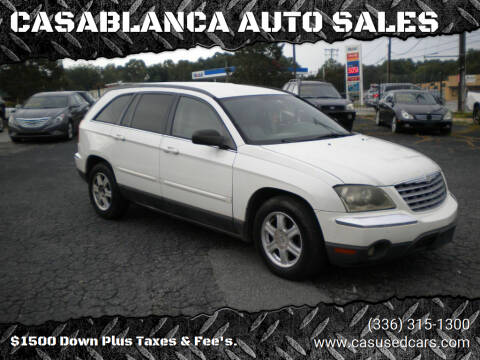 2005 Chrysler Pacifica for sale at CASABLANCA AUTO SALES in Greensboro NC