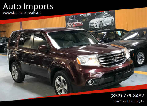 2012 Honda Pilot for sale at Auto Imports in Houston TX