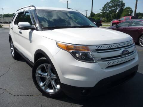 2013 Ford Explorer for sale at Wade Hampton Auto Mart in Greer SC