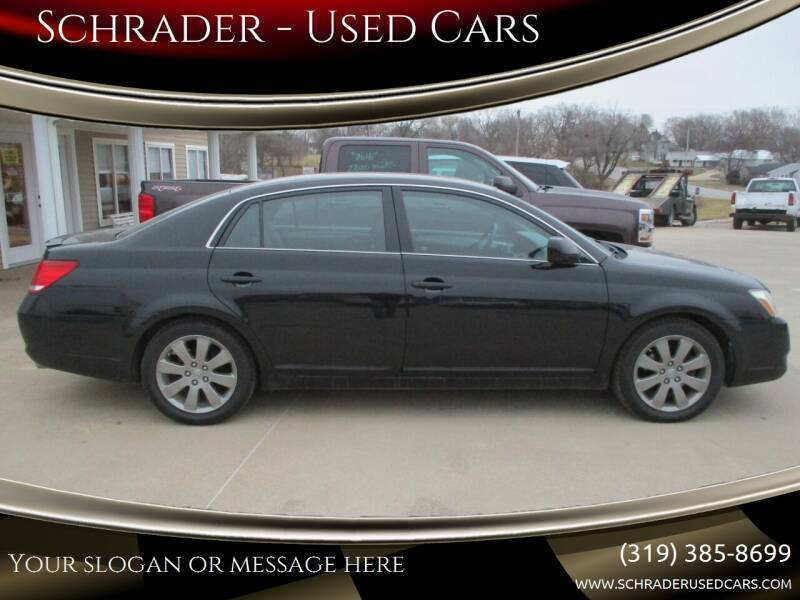 2007 Toyota Avalon for sale at Schrader - Used Cars in Mt Pleasant IA
