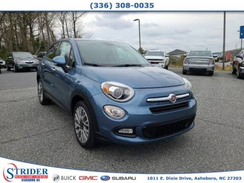 2017 FIAT 500X for sale at STRIDER BUICK GMC SUBARU in Asheboro NC